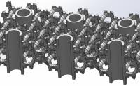 Mousse métallique et échangeur thermique