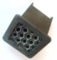 Elément tubulaire en mousse métallique