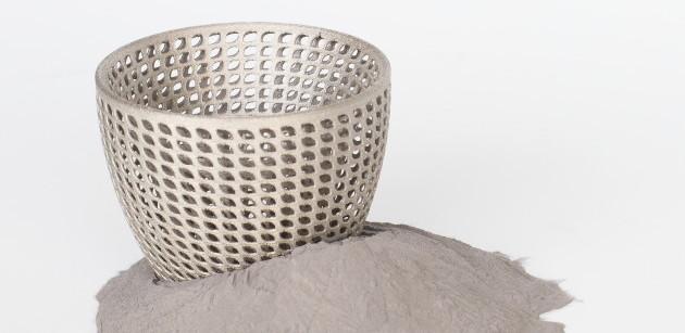 Pièce de fabrication additive métallique (impression 3D métal)