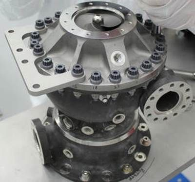 Turbo pompe Nasa imprimée en 3D