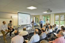 Atelier sur l'ingénierie numérique et la fabrication additive lors des J'Tech 2014