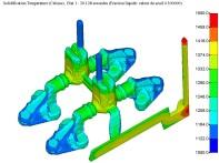 Etude simulation-solidification sur pièces de fonderie à CTIF