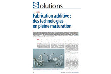 Fabrication additive : des technologies en pleine maturation avec interview de Paul-Henri Renard de CTIF