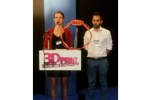 Trophée 3D Print attribué à la pince LETo de CTIF et Spartacus3D