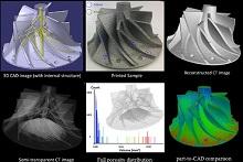 Tomographie et Radiographie pièces de fonderie