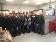 Visite étudiants ESFF chez Platinium 3D
