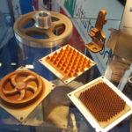 Pièces en cuivre obtenues par la Technologie de Spee3D