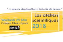 Ateliers Scientifiques 25 mai 2018, Épinal, Organisés par l'Institut Carnot - ICEEL