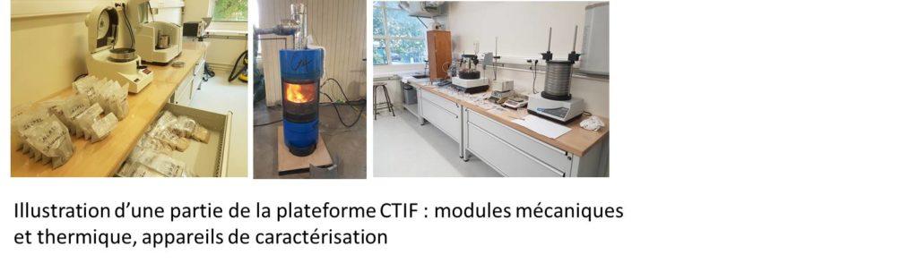 Plateforme CTIF recyclage sables chimiques