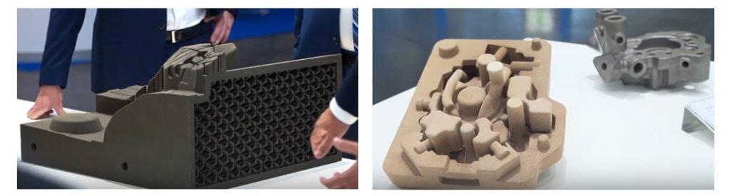 Fabrication Additive Sable et maîtrise produit-process (Exone)