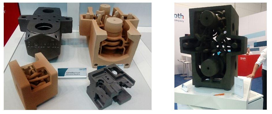 Noyaux complexes et noyaux de grande taille en fabrication additive (Bosch REXROTH)