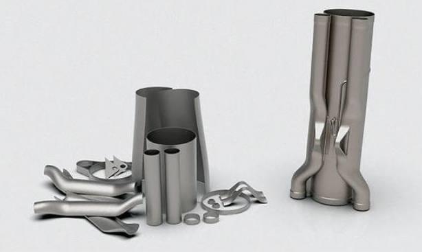 Optimisation topologique sur produits issus de fabrication additive métal (3D Systems)