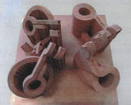 Plateau d'inducteurs issus de FA 3D (GH Inducteurs)