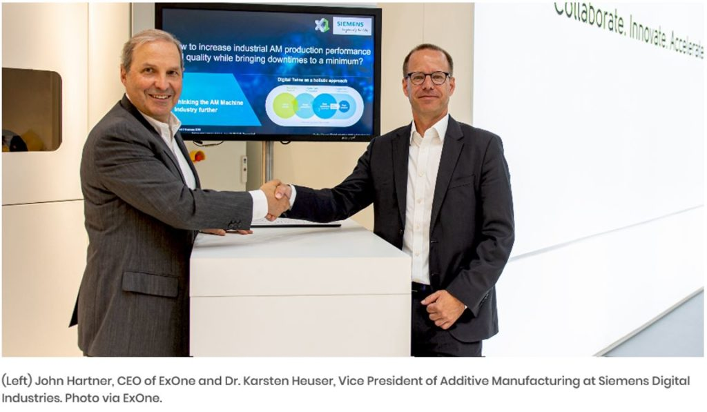 Gifa 2019 - Accord de partenariat (Exone & Siemens)