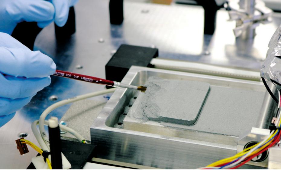 Les premières pièces métalliques ont été imprimées dans une gravité proche de zéro.