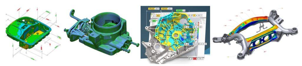 Contrôle par scan 3D Geomagic® Control X™ (3D Systems)