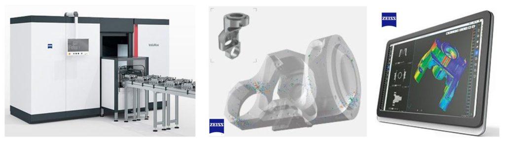 Tomographie RX en ligne (Zeiss)