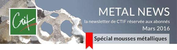 Metal News - Mars 2016