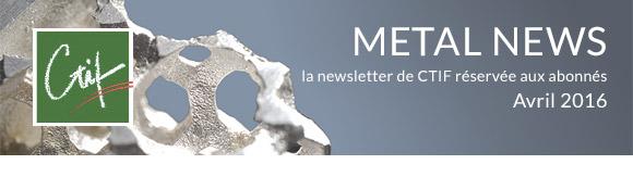 Metal News - Avril 2016