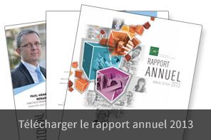 Téléchargez le rapport annuel 2013
